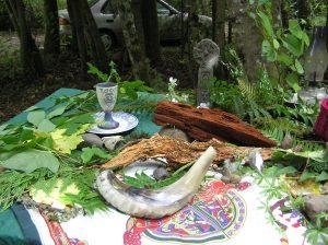 Celtic retreat - the altar