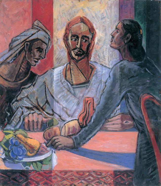 Supper at Emmaus - Roy de Maistre