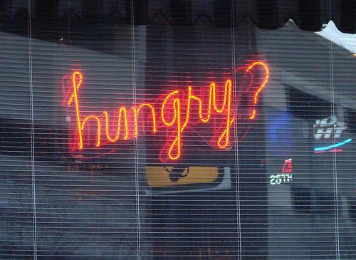 Hungry anyone?