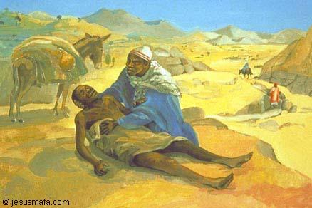 good samaritan - african