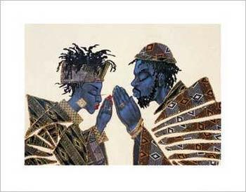 praying together - African