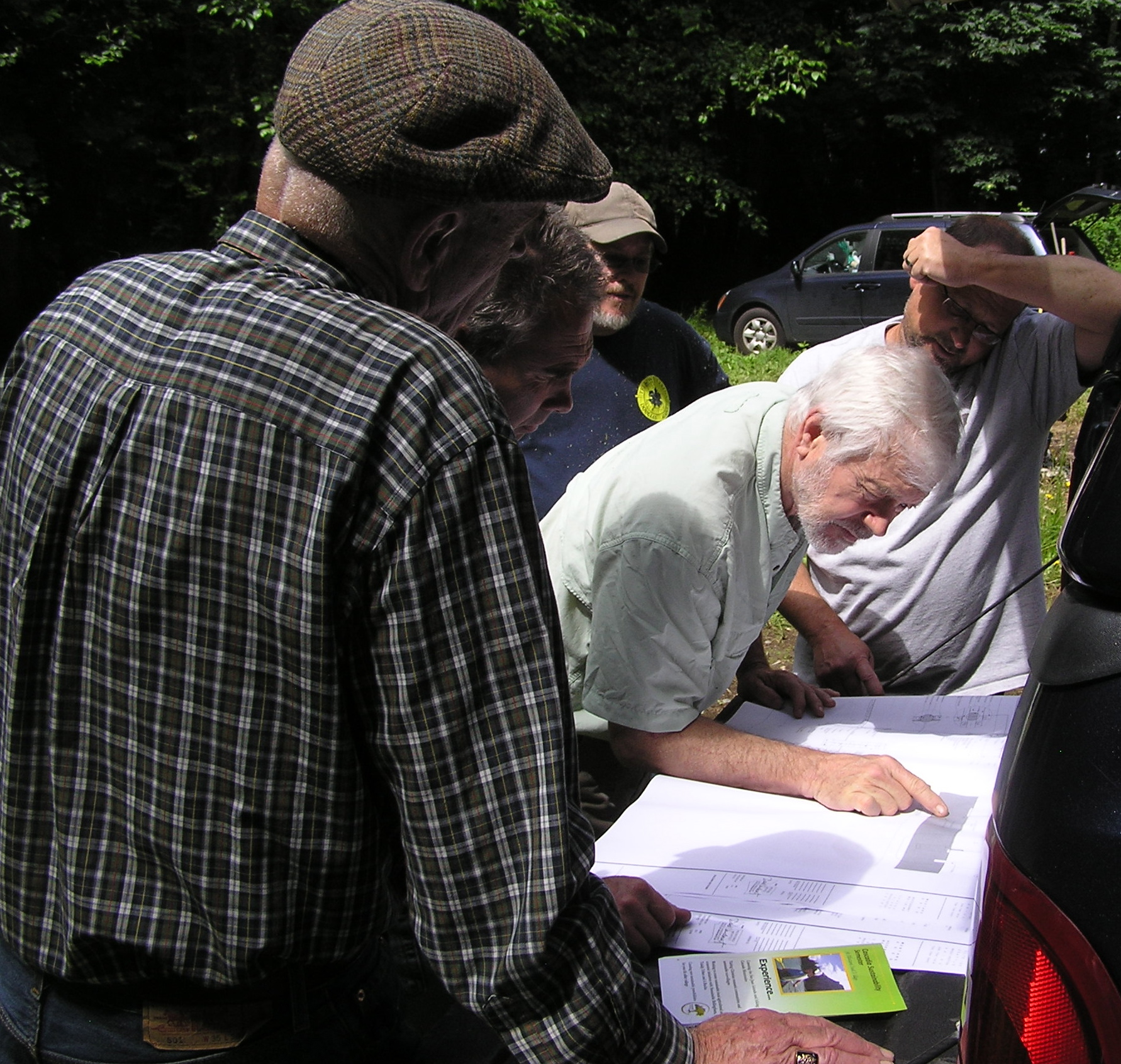 Checking Out Plans for the Mustard Seed Village
