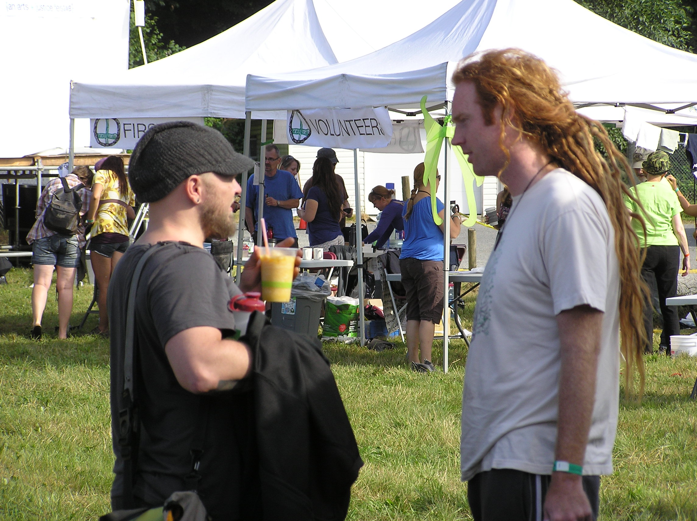 Aaron Strumpel and Joel McKerrow at Creative World Festival
