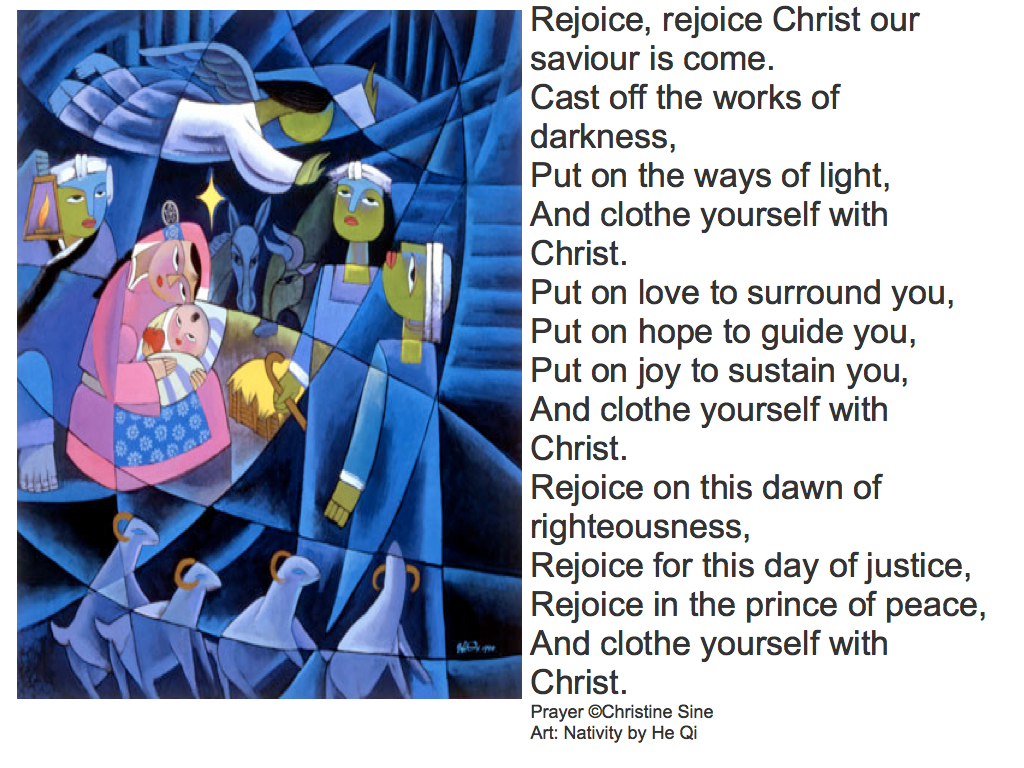 Rejoice Rejoice, Christ our Saviour is come.001