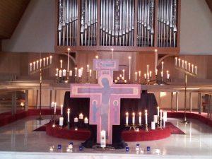 Tenebrae service St Andrew's Episcopal Seattle
