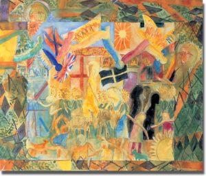 Christ's entry into Jerusalem by Francis Hoyland