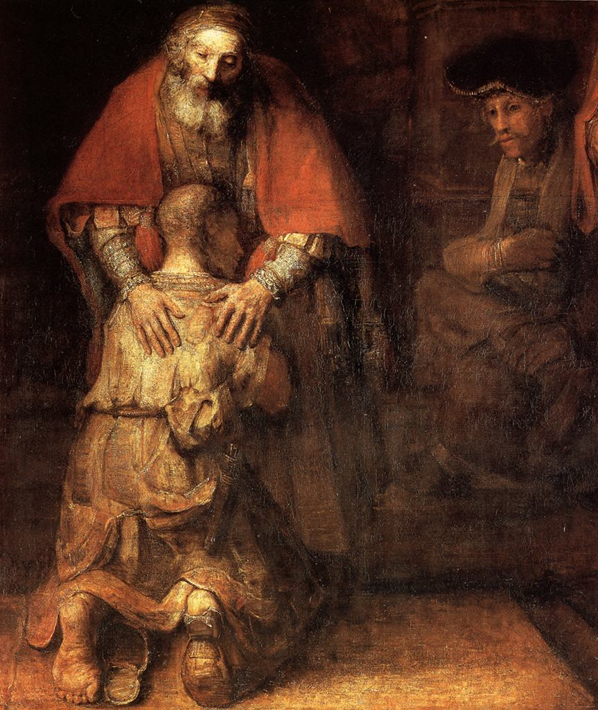return of prodigal - Rembrandt