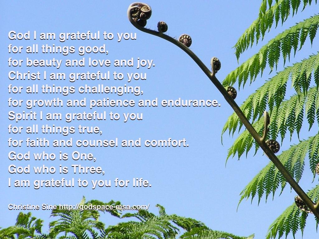 God I am grateful.001