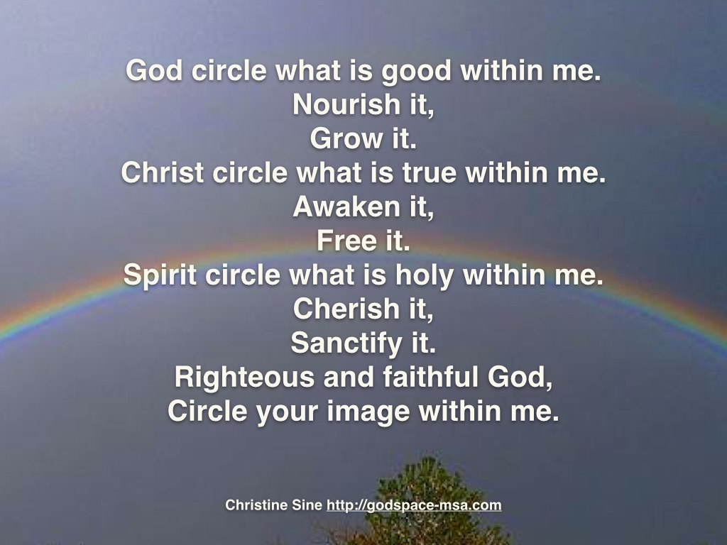 God circle what is good.001