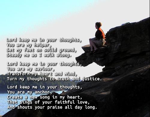 Lord keep me