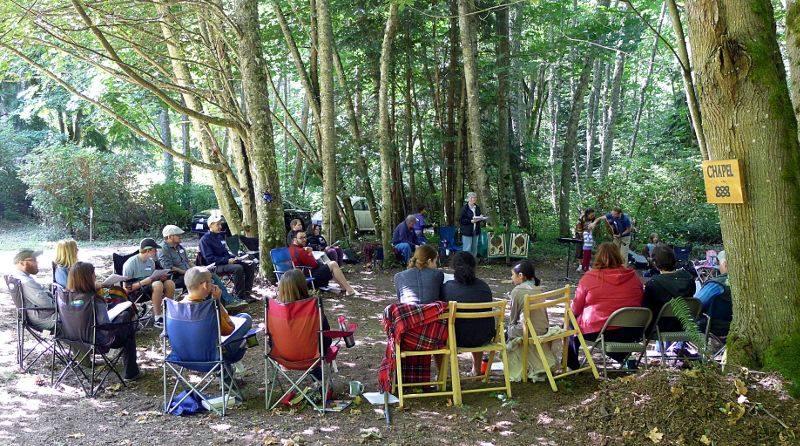 Celtic retreat gathering - photo Andy Wade