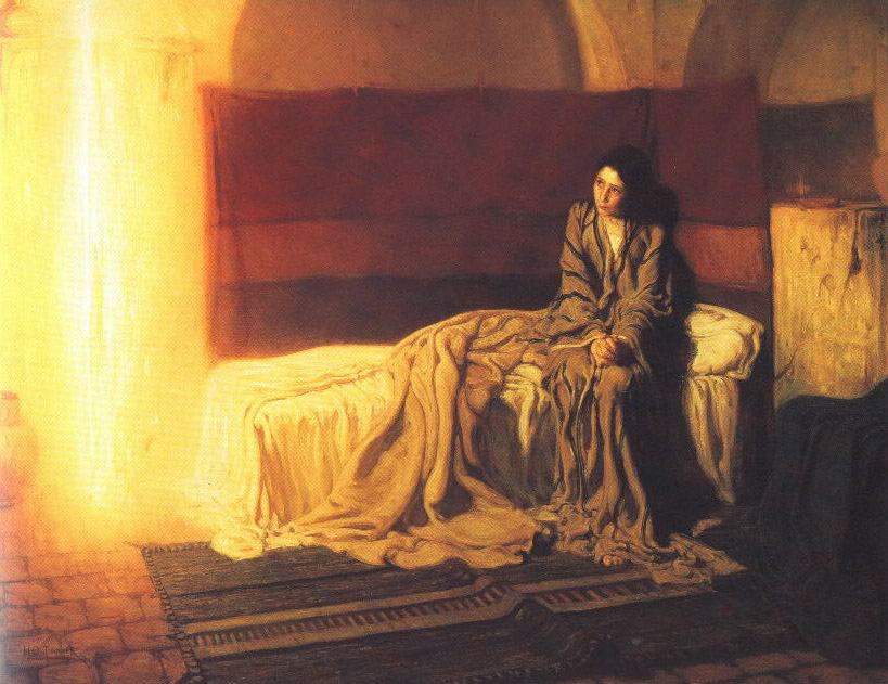 Annunciation Henry Ossawa Tanner