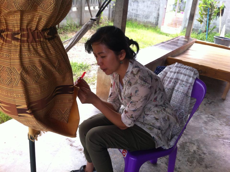 Female Garment Worker in Thailand