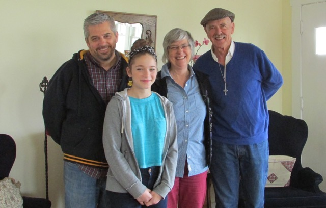 Forrest, Kayra, Tom and myself - core of the new MSH community
