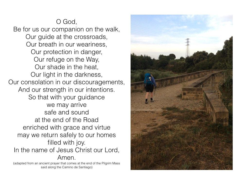 El Camino prayer.001