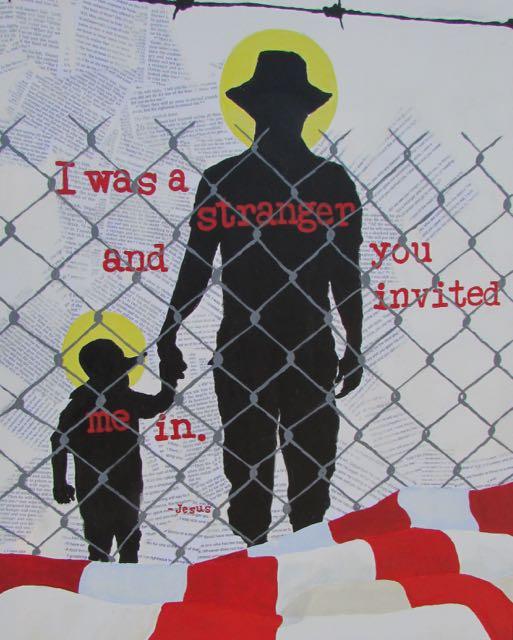 I was a stranger