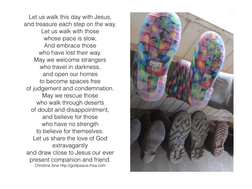 Let us walk with Jesus.001