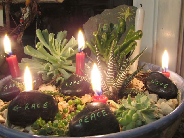 Advent garden