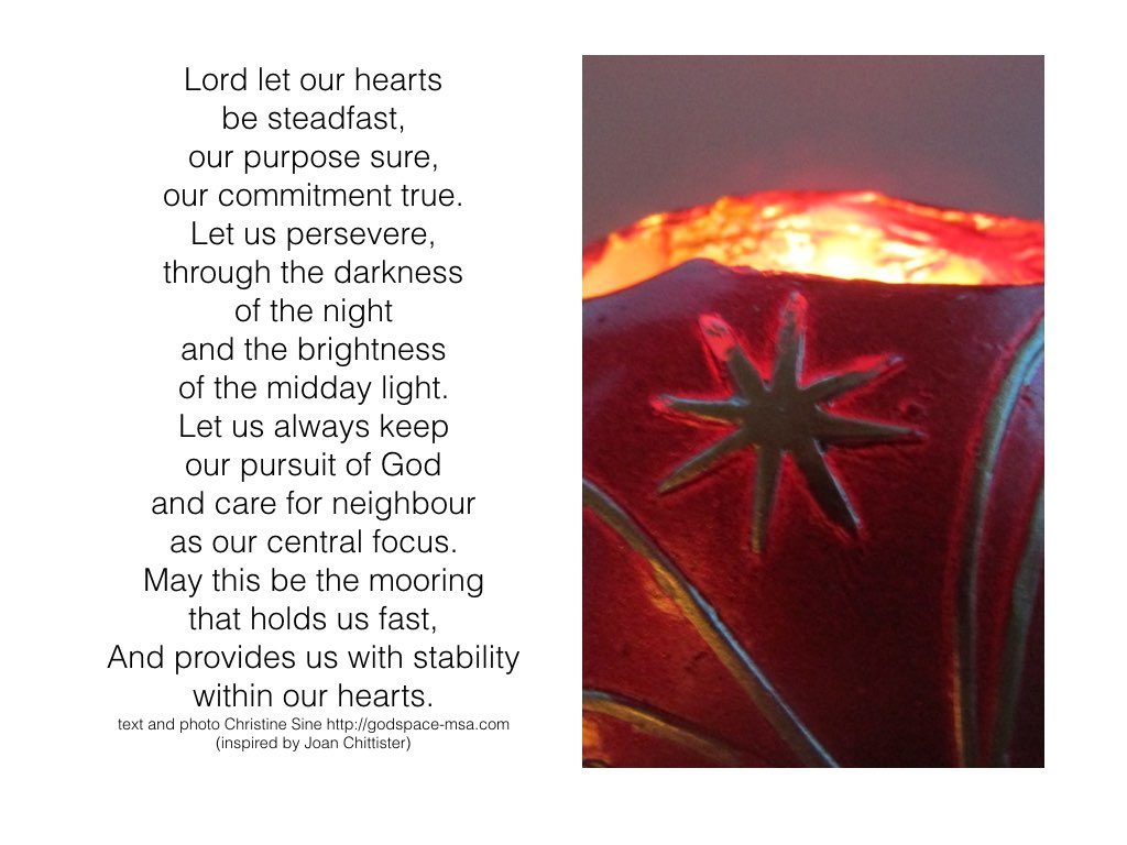 Let our hearts be steadfast.001
