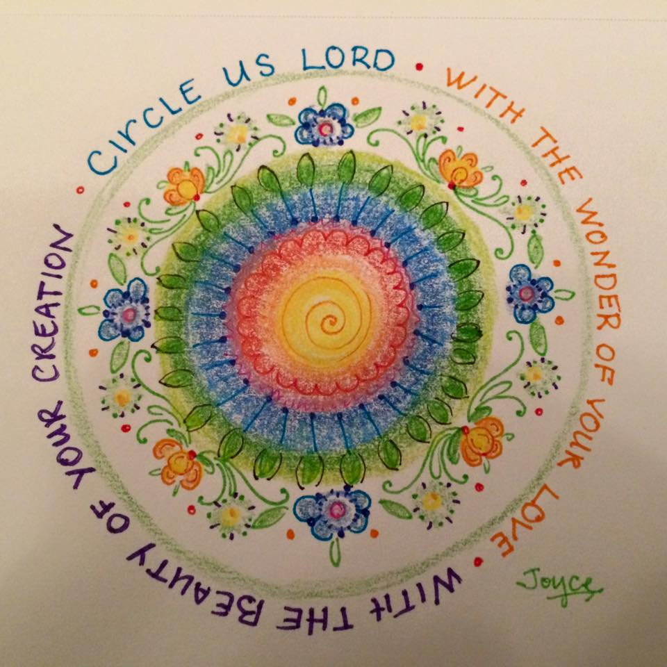 Circle prayer doodle - Joyce Withrow