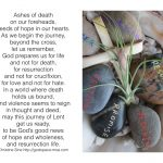 Meditation Monday – A Prayer For Ash Wednesday