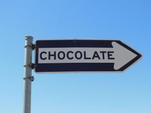 Chocolate sign by sophisticat morguefile