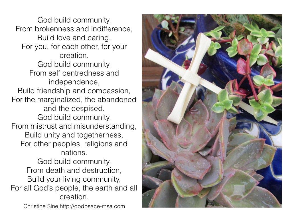 God build community.001