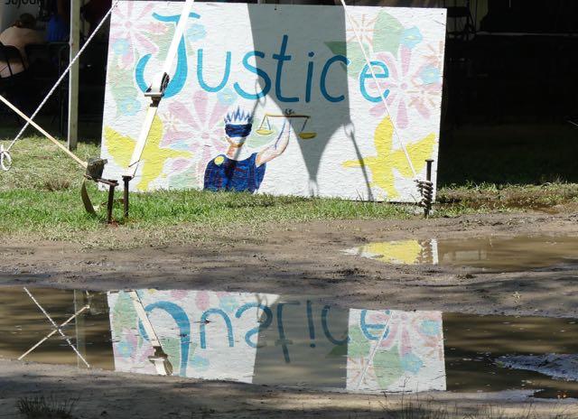 Justice - Christine Sine