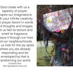 Meditation Monday – Learning to Be Creative With Prayer