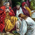 a story of servanthood and love - Jesus washes the disciples feet
