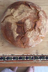Hilary's Sourdough Loaf