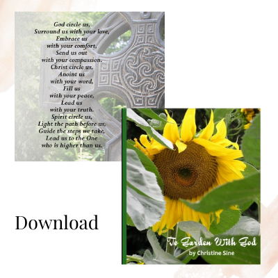 To Garden with God and Celtic cards download