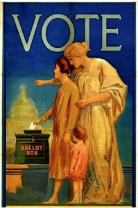 VOTE poster Citation Acc 22002 Archives and Manuscripts Library of Virginia