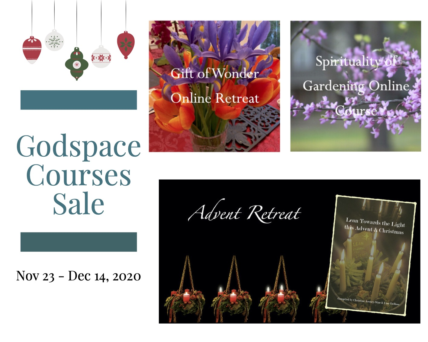 Godspace Courses on Sale now