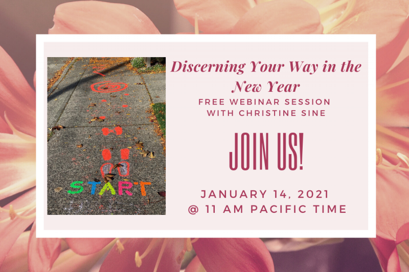 Discerning your way in the new year join us