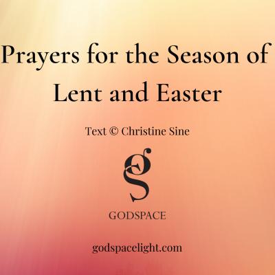 Lent Easter Prayer Cards