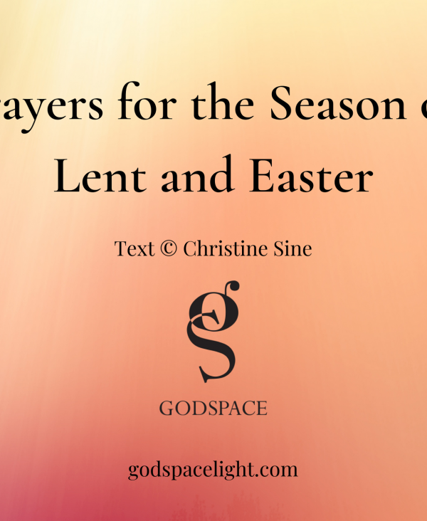 Lent Easter Prayer Cards