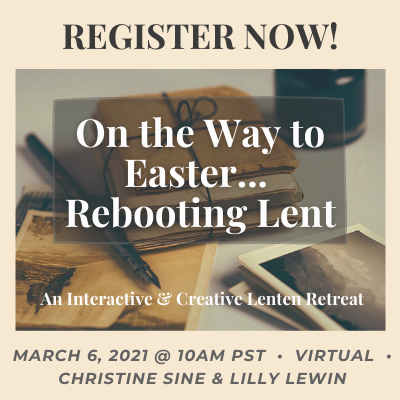 Interactive Creative Lenten Retreat 2
