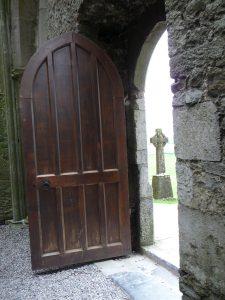 door open cross