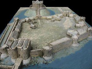 660px York Castle diorama