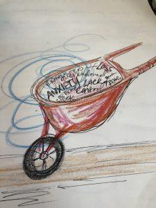 covid wheelbarrow