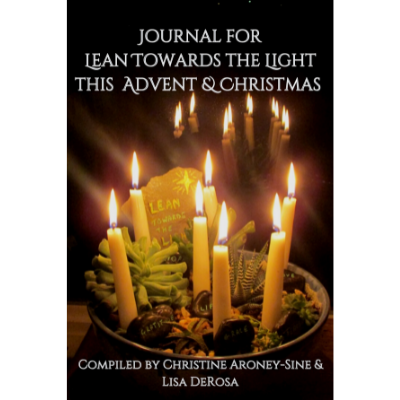 Journal for Lean Towards the Light this Advent Christmas product page