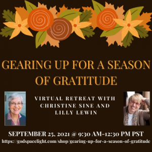 Gearing Up for a Season of Gratitude 400
