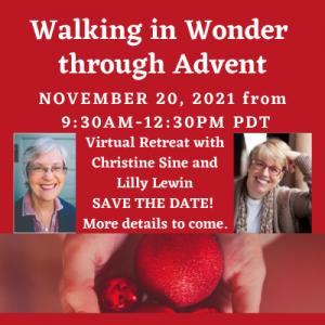 Walking in Wonder through Advent