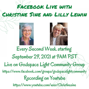 Facebook Live with Christine Sine and Lilly Lewin 1