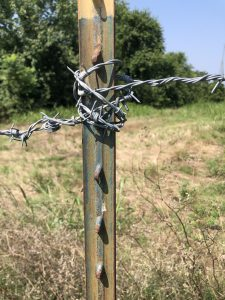 fence cross